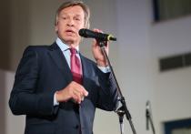 Пушков высмеял слова Порошенко о флаге над Донецком