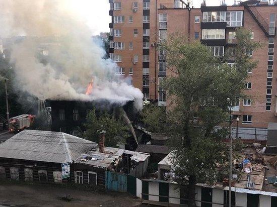 Глава спецназа забайкальского УФСИН спас людей из пожара в Иркутске
