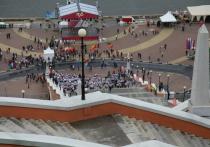 День города – день дождя: в Нижнем Новгороде прошло десять фестивалей