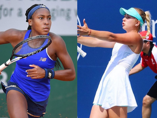 На US Open будет жарко: Молодая Шарапова сыграет с юной Сереной