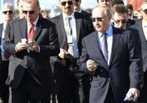 Эрдоган впал в ступор от предложенного Путиным мороженого: «Кусайте!»