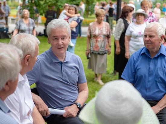 Легко на сердце от пенсий столичных