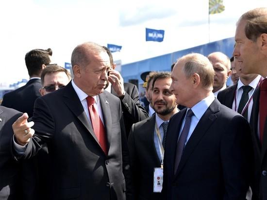 Путин с Эрдоганом сдержали взаимные эмоции по поводу Сирии