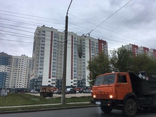 Пожар в уфимской многоэтажке: эвакуировали 15 взрослых и пять детей
