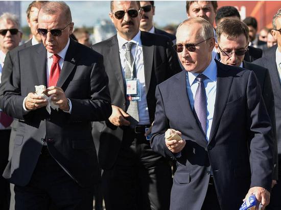 Президент России предпочел мороженое кубанского происхождения