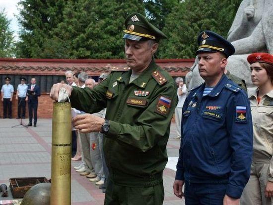 Из Тамбова в Москву доставили горсть земли со 123 воинских могил