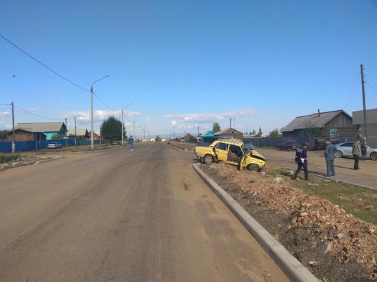 В Бурятии водитель «Жигулей» устроил ДТП с пострадавшими