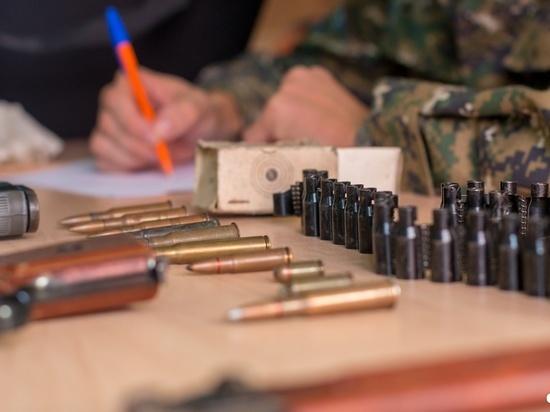 У стрелявшего на детской площадке петербуржца изъяли еще арсенал