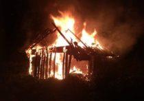 Под Воронежем ревнивая жена спалила соседский сарай