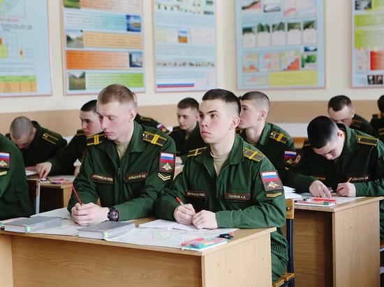 В Минобороны РФ отметили рекордные показатели набора на учебу в военные вузы