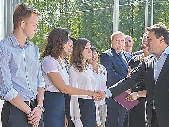 В Домодедове открыли новое здание лицея, что позволило ликвидировать вторую смену в этом учебном заведении