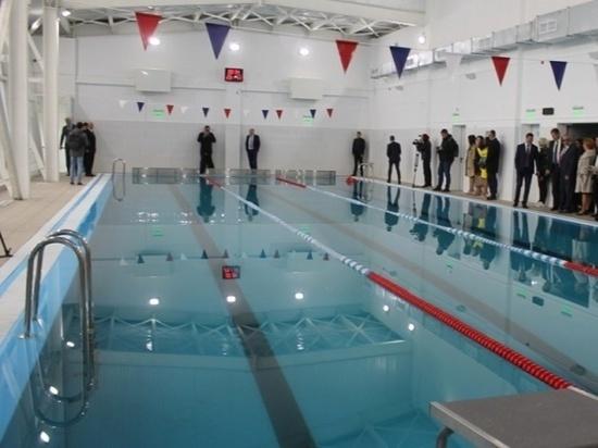 Новый бассейн открылся в посёлке Палатка на Колыме