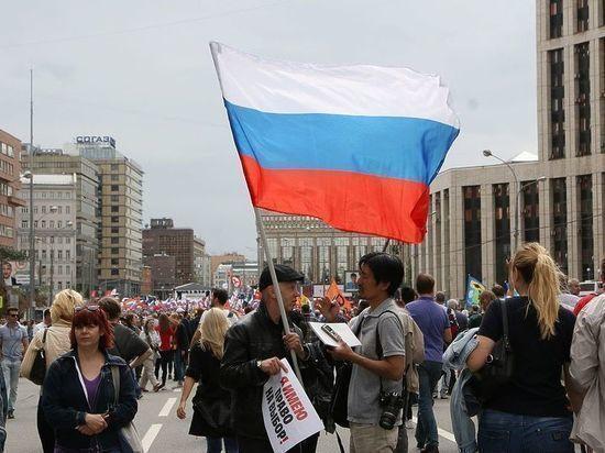СКР опубликовал редкие кадры беспорядков в Москве