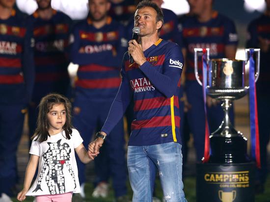 Дочь экс-тренера сборной Испании Луиса Энрике умерла в 9 лет