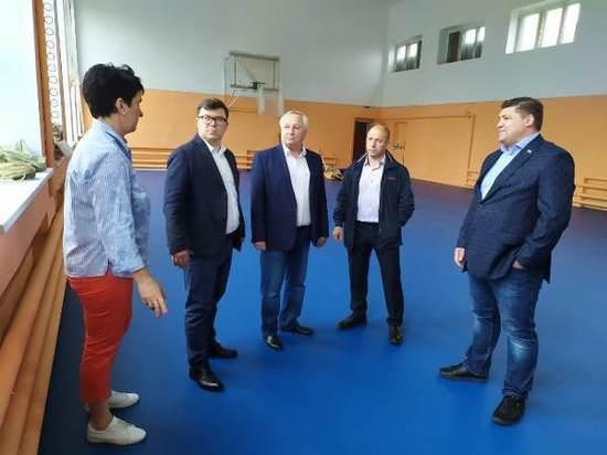 Спортивный зал в Воскресенской школе Некоузского района отремонтировали в рамках партпроекта «Детский спорт»