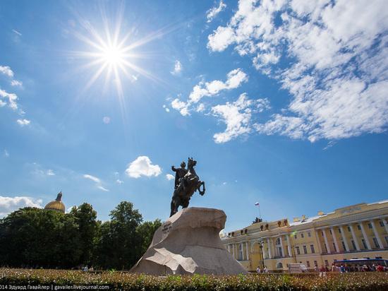 В Петербурге жара повторила 75-летний рекорд