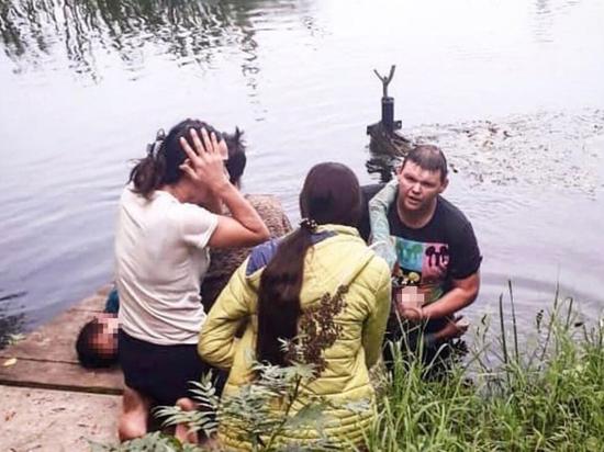 Житель Подмосковья спас двух утонувших цыганских детей
