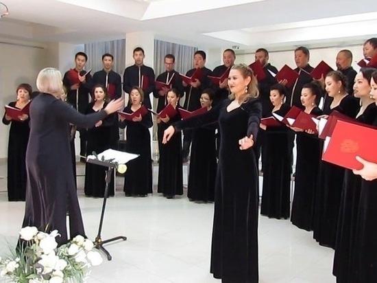 Калмыцкий хор споет Гимн России в Санкт-Петербурге