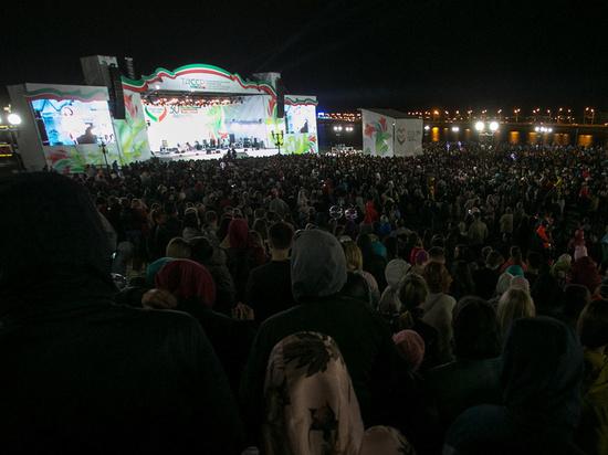В Казани отметили День города и День республики