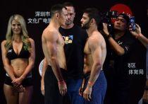 В Шеньчжене прошел турнир UFC