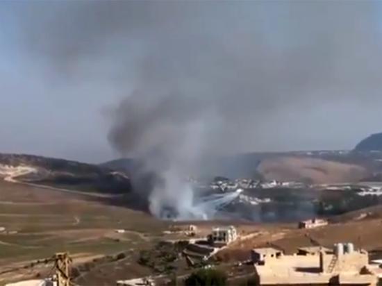 Израиль нанес ракетный удар по территории Ливана