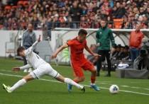 На встрече «Урала» с «Краснодаром» забили шесть голов