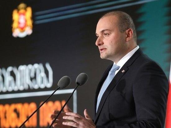 Премьер Грузии уходит вотставку