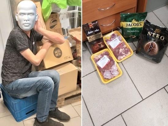 Многодетный отец в Новосибирске воровал еду из принципа