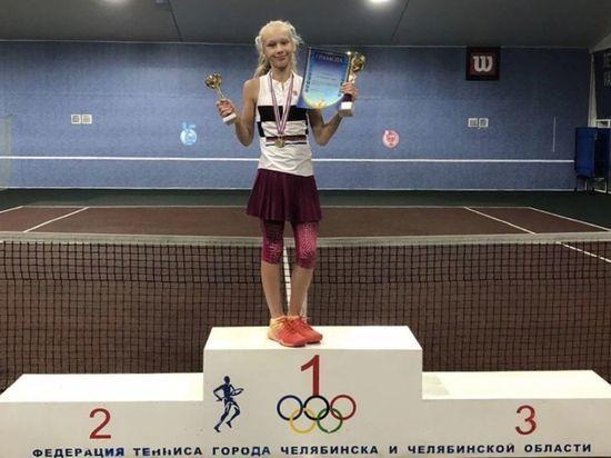 Юная кемеровская теннисистка одержала победу в уральском первенстве