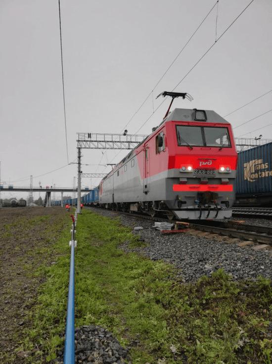 Первый скоростной контейнерный поезд отправился из Уфы в Китай