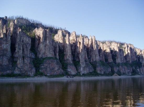 В России обмелела одна из величайших рек Лена
