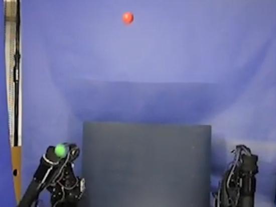 В Японии собрали робота-жонглера
