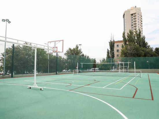 В Волгограде по нацпроекту построили две новые спортплощадки