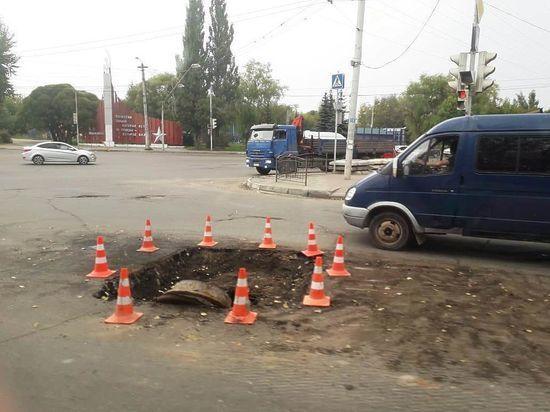 Дорожные работы в Калуге остановлены