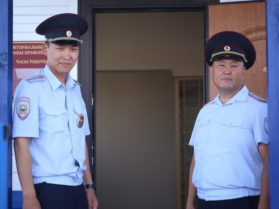 На левобережных дачах в Кызыле открылся опорный пункт полиции
