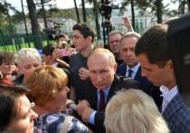 Встреча с Путиным в Тулуне изнутри: «Сирота как стала плакать!»