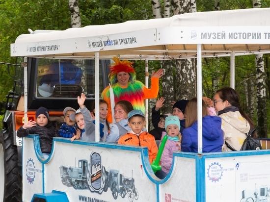 Концерн «Тракторные заводы» провожает детей в школу