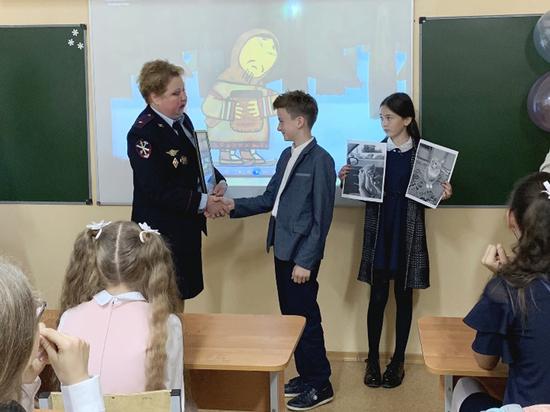 Шестиклассник заслужил благодарность от полиции Нижневартовска