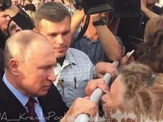 Владимир Путин провёл незапланированную встречу с тулунчанами