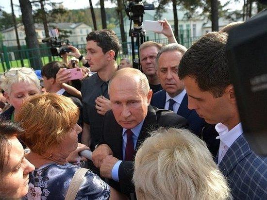 Путина в Тулуне спросили про «медвежью охоту» губернатора Левченко