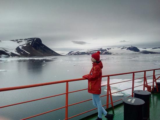 Как саратовские школьники  на Северный полюс попали