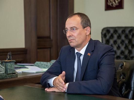 Спикер ЗСК Юрий Бурлачко встретился с новым главой Росгвардии Кубани
