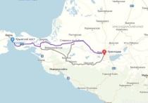 Из Краснодара в Крым могут построить новую дорогу