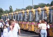 Новые школьные автобусы получили кубанские школы