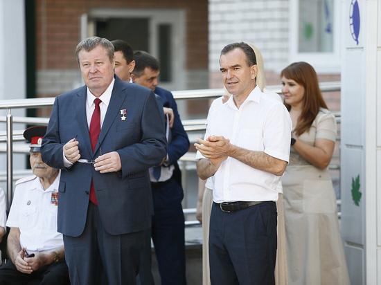 Первые лица Кубани посетили линейку в Краснодарской школе