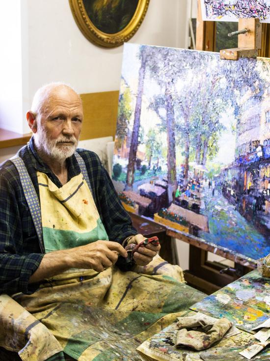 В картинах Алексея Уткина Алматы прекраснее Парижа