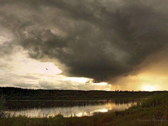 Сегодня в Поморье будет тепло и дождливо