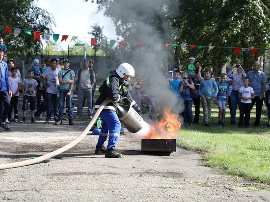 На Алтай-Коксе прошли соревнования газоспасателей
