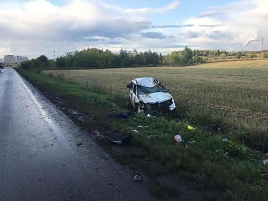 28-летняя девушка едва не погибла в аварии под Уфой