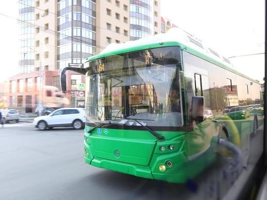 В Челябинск прибыли новые автобусы